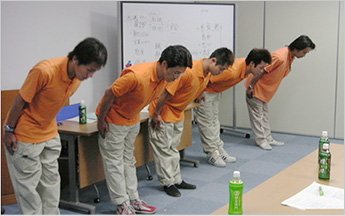 スタッフ教育1